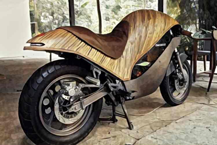Banatti Green Falcon - Una moto eléctrica, ecológica y fabricada en bambú