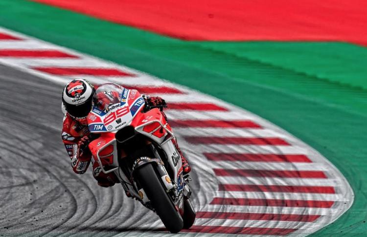Jorge Lorenzo GP de Austria 2018