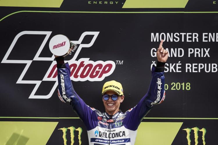 Fabio Di Giannantonio - Moto3 Brno 2018