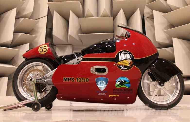 Indian Motorcycles y Lee Munro a por el récord de las 200 millas por hora