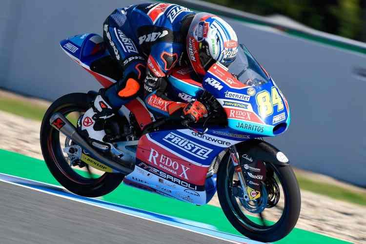 Moto3 Brno -Jakub Kornfeil