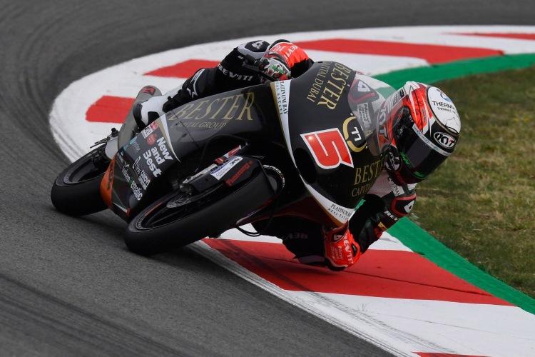 Jaume Masiá manda en Moto3 durante el primer día en Austria