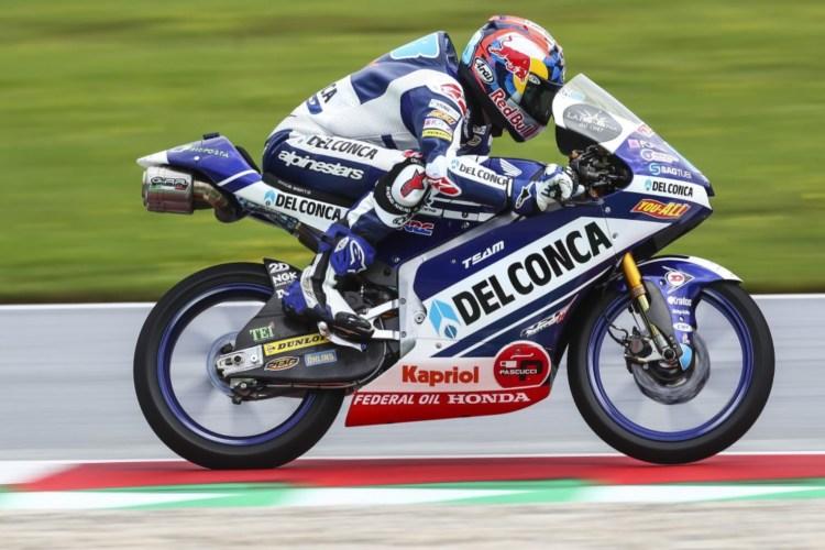 Jorge Martín ha sido tercero por detrás de Bezzecchi y Bastianini