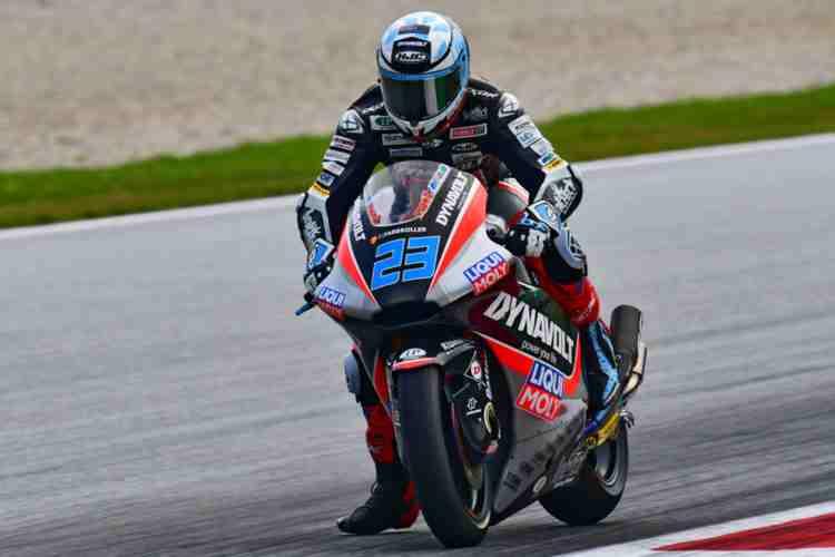 Marcel Schrotter firma el mejor tiempo de Moto2 en Silverstone