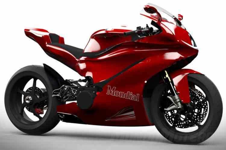 MondialMoto V5R Superbike