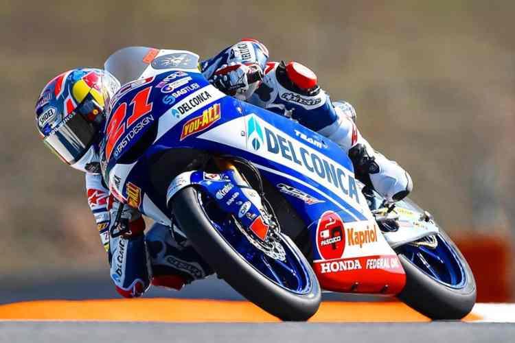 Fabio Di Giannantonio se lleva la victoria de Moto3 en Brno