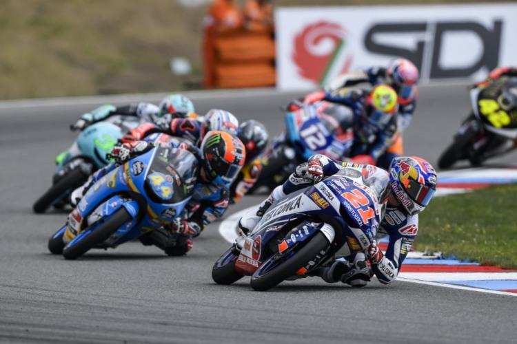 Fabio Di Giannantonio consiguió en Brno su primera victoria en Moto3