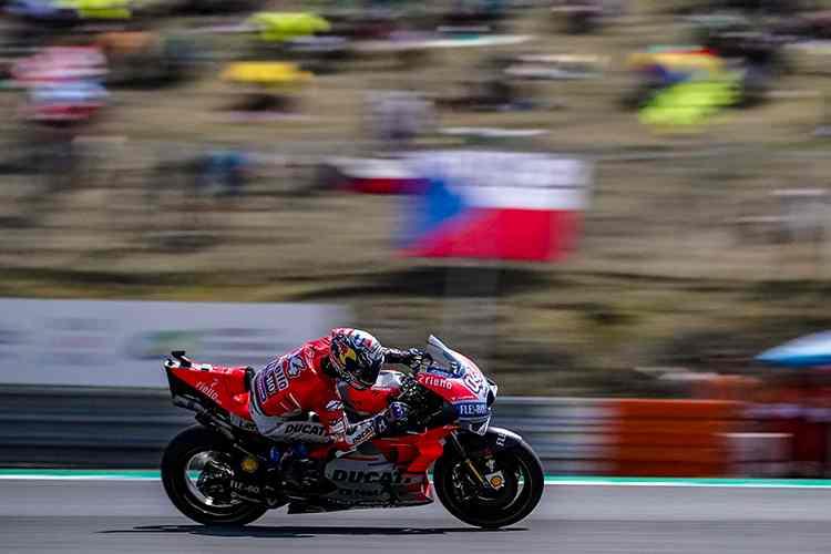 Andrea Dovizioso vence el GP de MotoGP de la Republica Checa en Brno