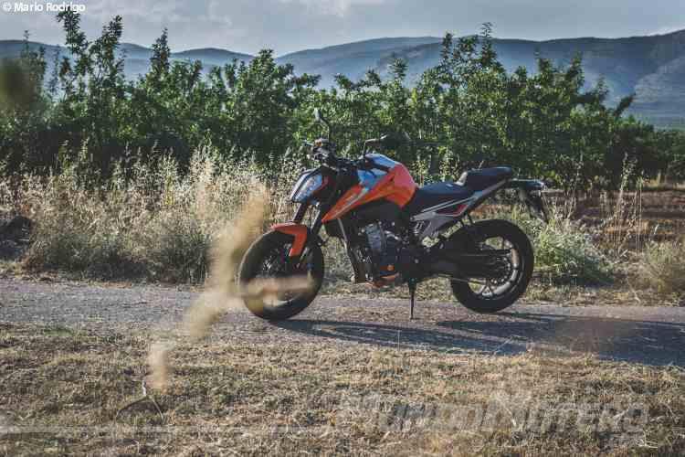 KTM 790 Duke Ficha Tecnica