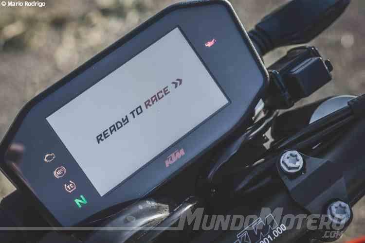 KTM 790 Duke 2018 prueba