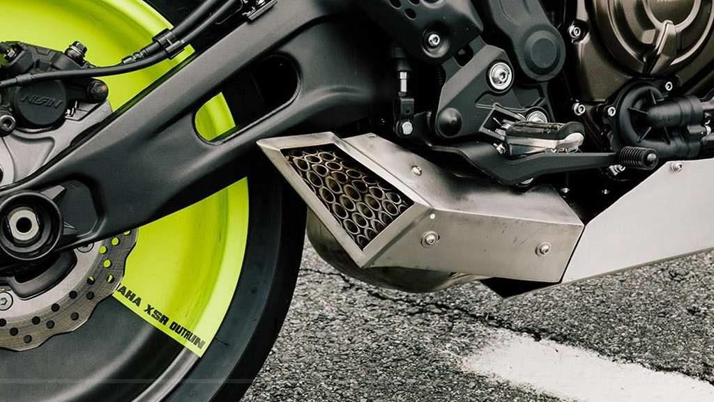 """Yamaha XSR700 """"The Outrun"""" de Ton-up Garage"""
