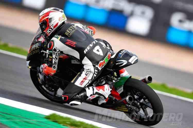 Jaume Masia - Moto3 Silverstone 2018