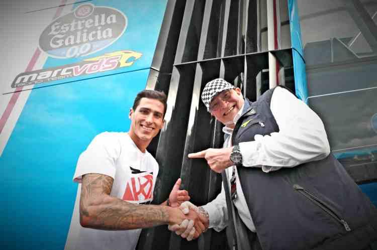 Xavi Vierge será piloto del Team Estrella Galicia 0,0 Marc VDS en 2019