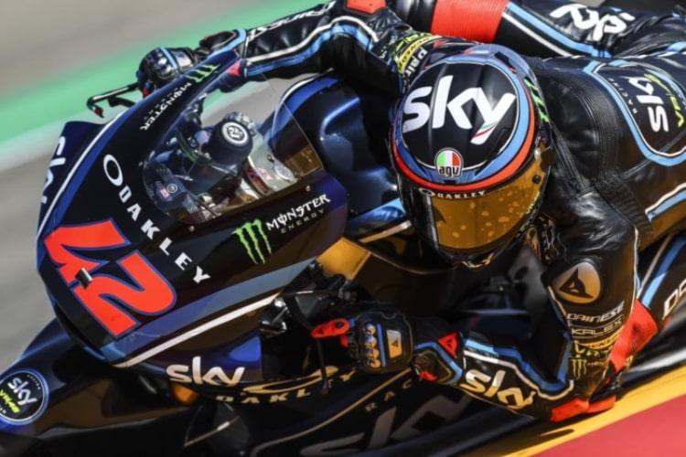 Bagnaia - Moto2 GP Aragon 2018