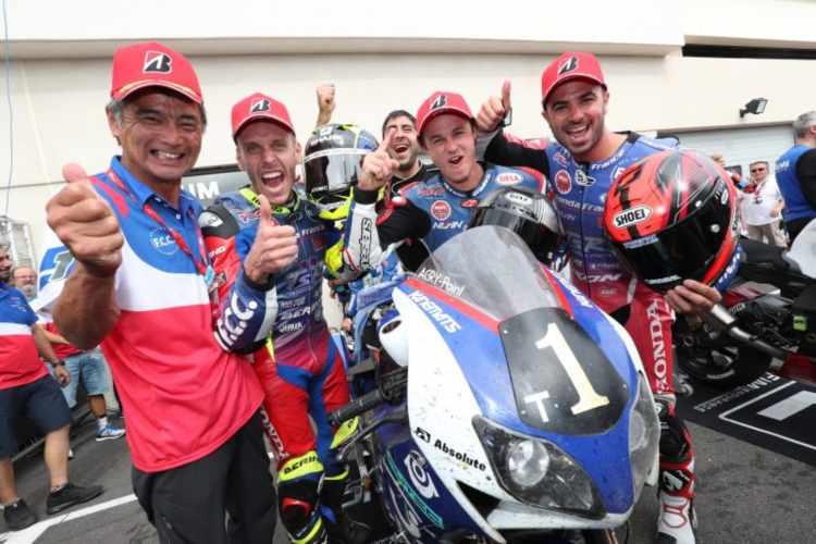 Bol d?Or 2018: remontada y victoria histórica de F.C.C TSR Honda France