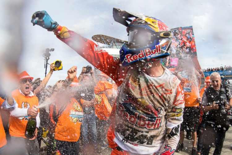 Jeffrey Herlings Campeón del Mundo de Motocross MXGP 2018