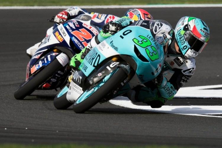 'La Bestia' ruge en Moto3 al inicio del Gran Premio de Aragón