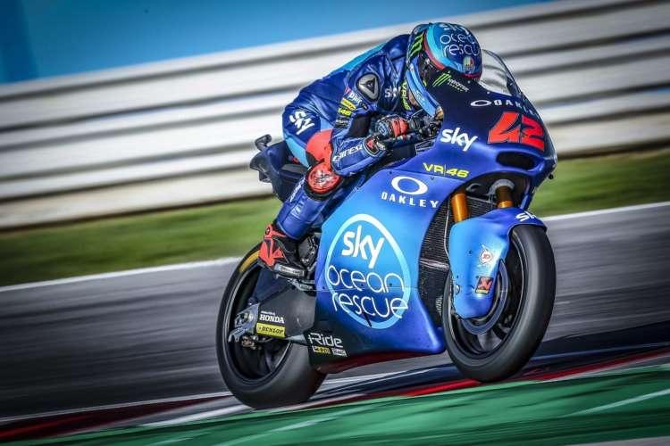 Un Oliveira con el agua al cuello deberá ajustar las cuentas en Moto2