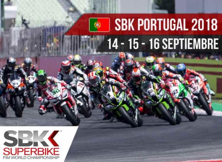 Horarios SBK Portugal 2018