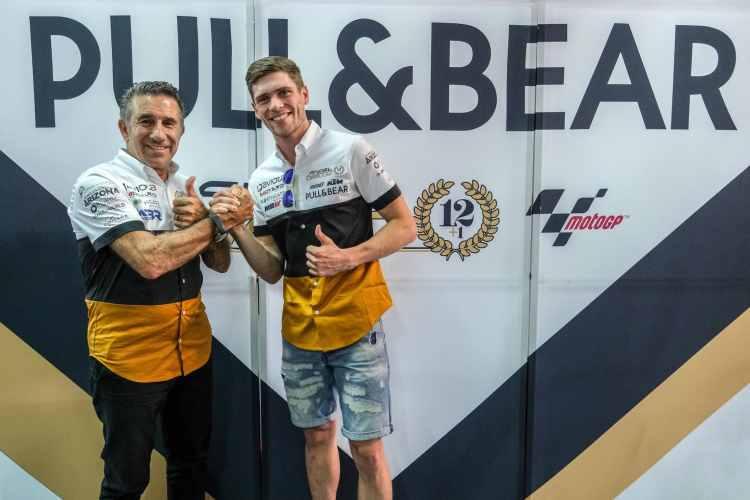 Jake Dixon competirá con el equipo Angel Nieto Team en Moto2