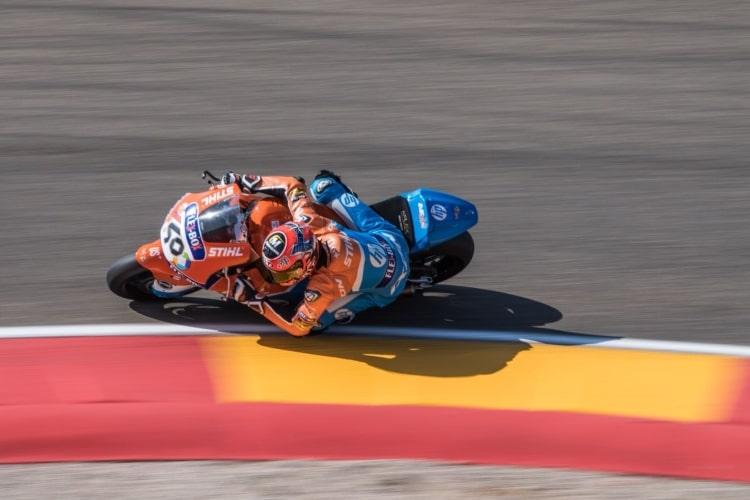 Lorenzo Baldassarri- Moto2 GP Aragon 2018
