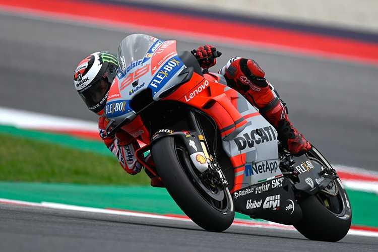 Pole de MotoGP en Misano para Jorge Lorenzo