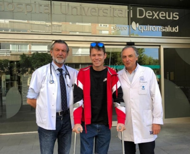 Tito Rabat abandona el hospital tras estar un mes ingresado