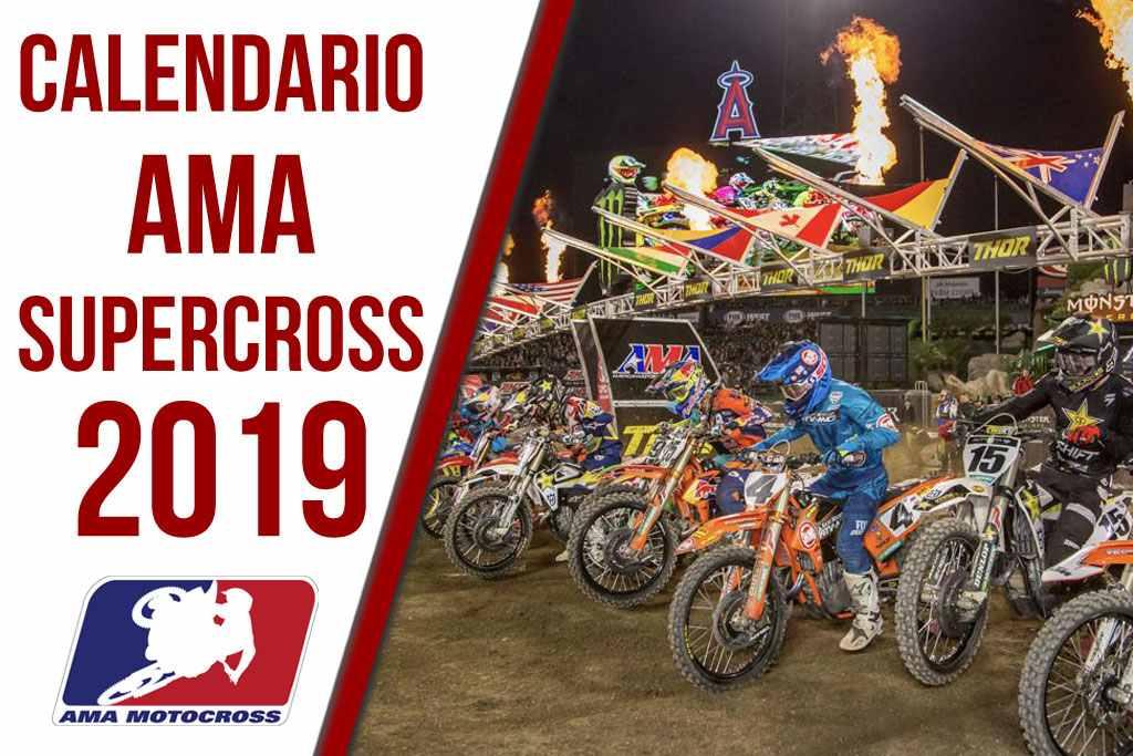 Calendario AMA Supercross 2019