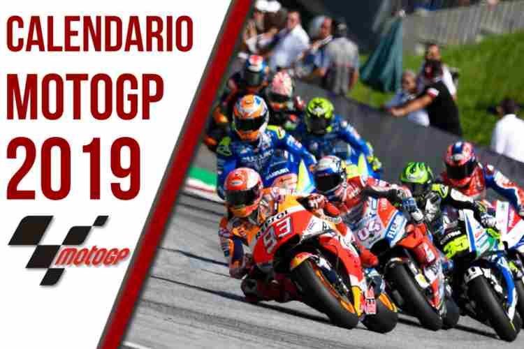 Calendario Gp.Calendario Motogp 2019 Fechas Y Grandes Premios