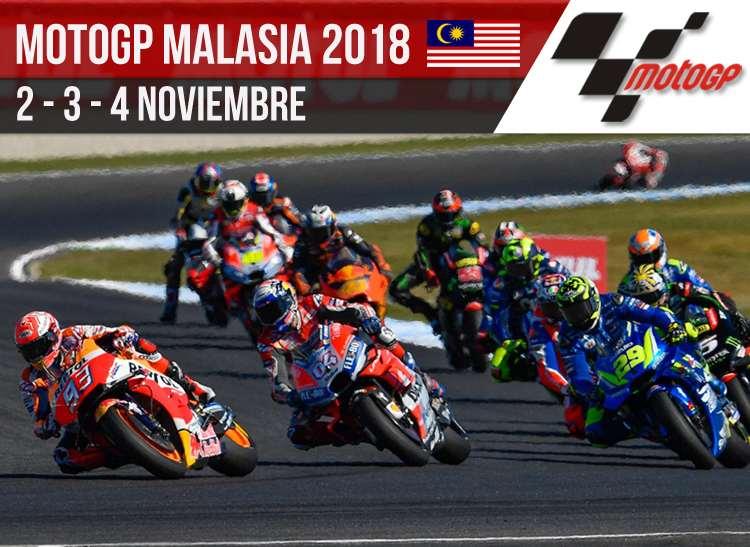 Horarios MotoGP Malasia 2018