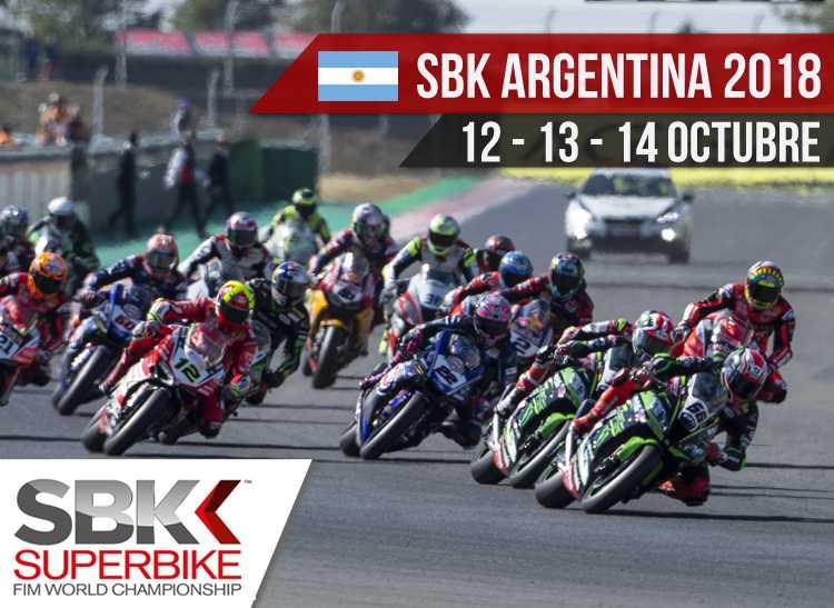 Horarios SBK Argentina 2018