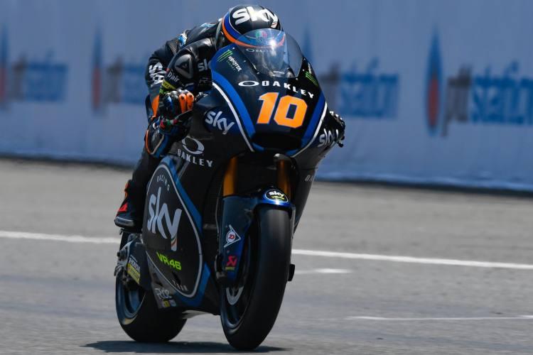 Moto2 Tailandia 2018 - Luca Marini