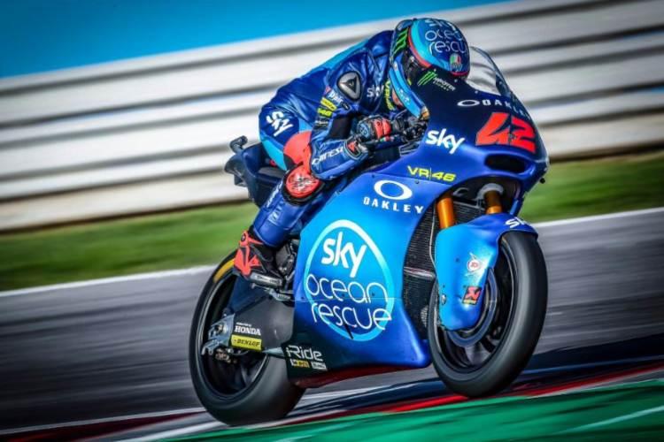 Francesco Bagnaia campeón del mundo de Moto2 2018