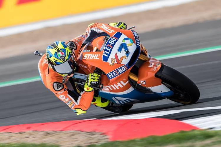 Pole Moto2 Tailandia 2018 Lorenzo Baldassarri