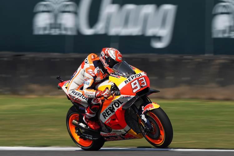 Marc Marquez vence el Gran Premio de MotoGP de Tailandia
