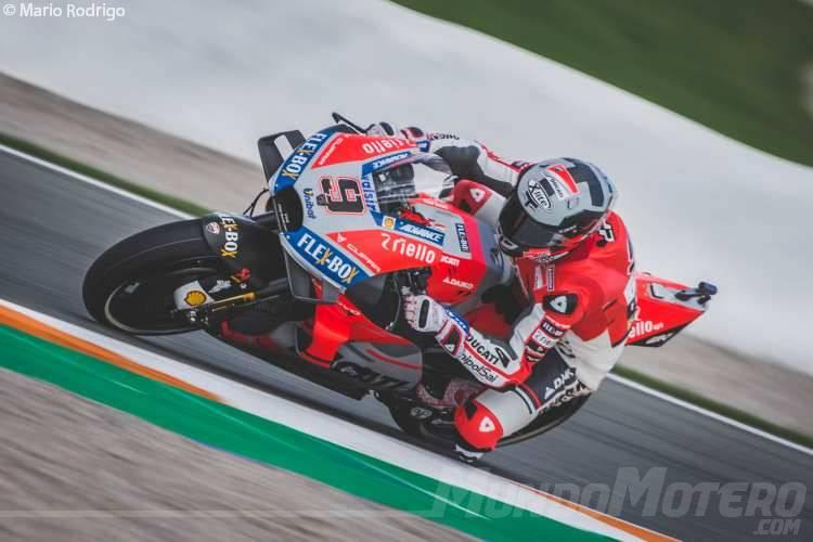 Danilo Petrucci - Test MotoGP Valencia 2018