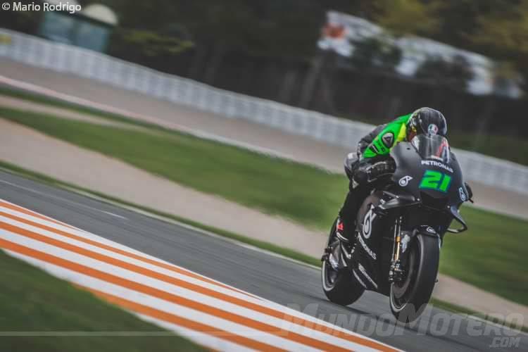 Franco Morbidelli - Test MotoGP Valencia 2018