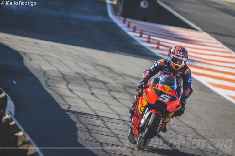 Johann Zarco - Test MotoGP Valencia 2018