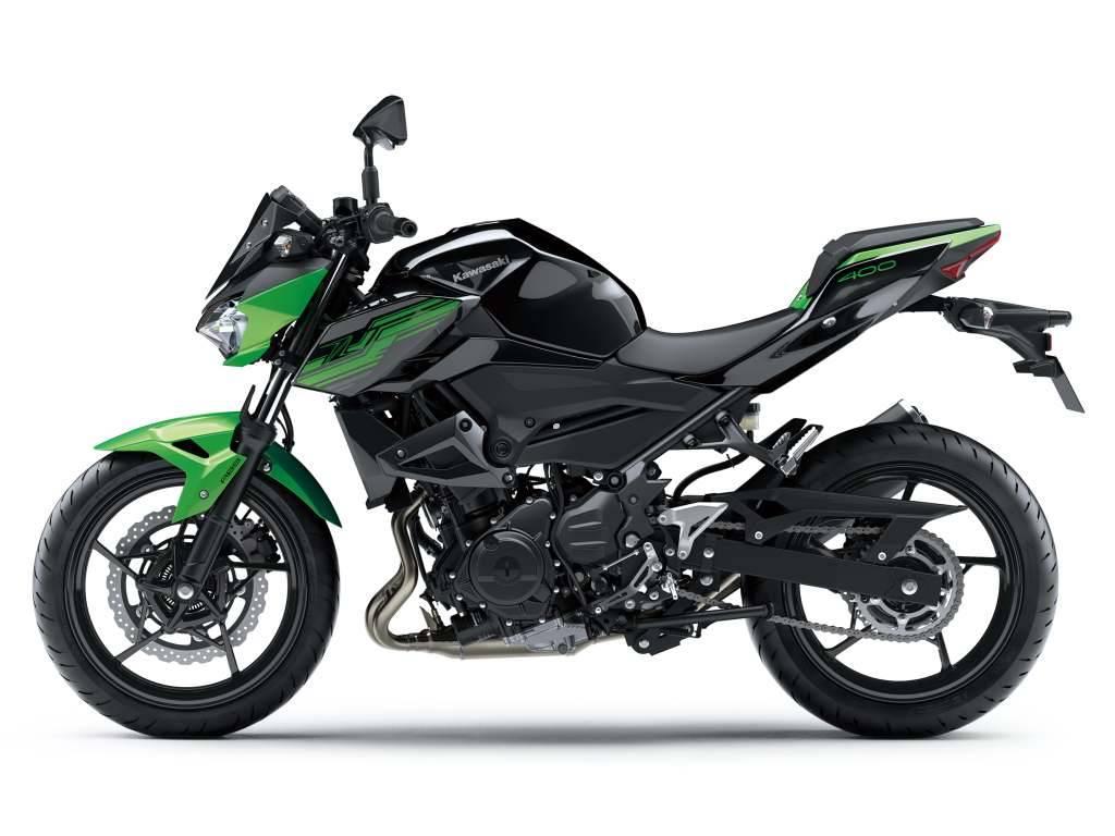 Kawasaki Z400 2019 Nueva Moto Naked A2 De Estilo Deportivo