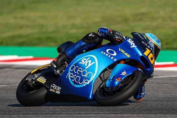 Luca Marini vence la carrera de Moto2 del Gran Premio de Malasia, su primera victoria en el Mundial de Motociclismo