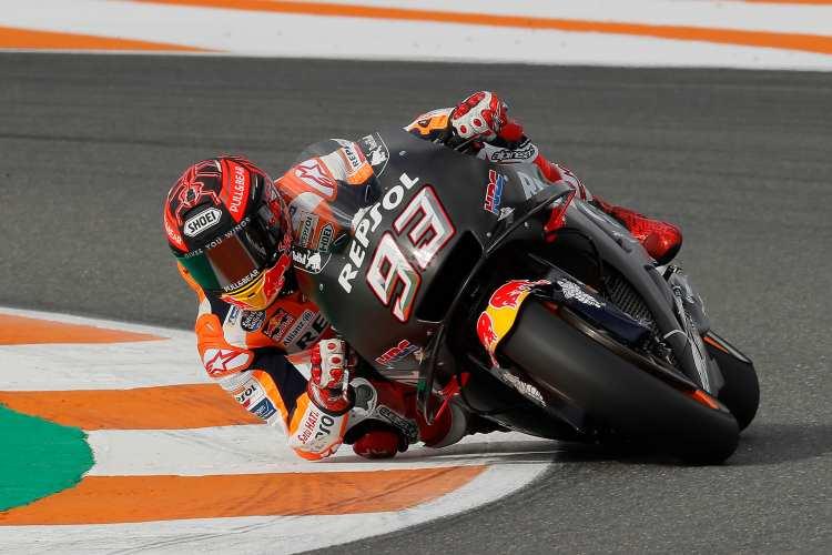 Marc Marquez - Test MotoGP Valencia 2018