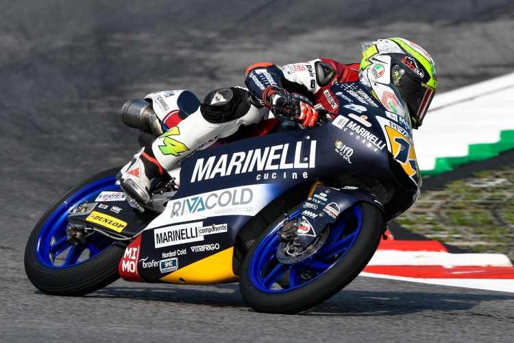 La lluvia arruina el primer día de entrenamientos de Moto3 en Sepang
