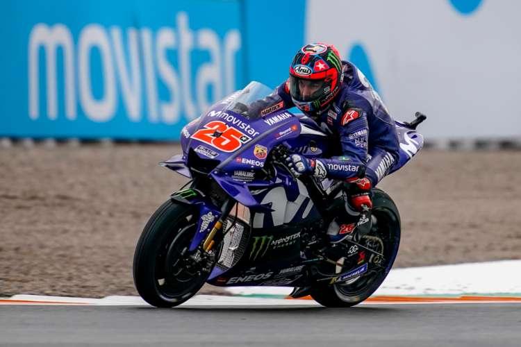 Pole de MotoGP en Valencia para Maverick Viñales