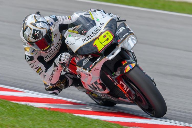Álvaro Bautista ha liderado la Q1 del GP de Malasia.