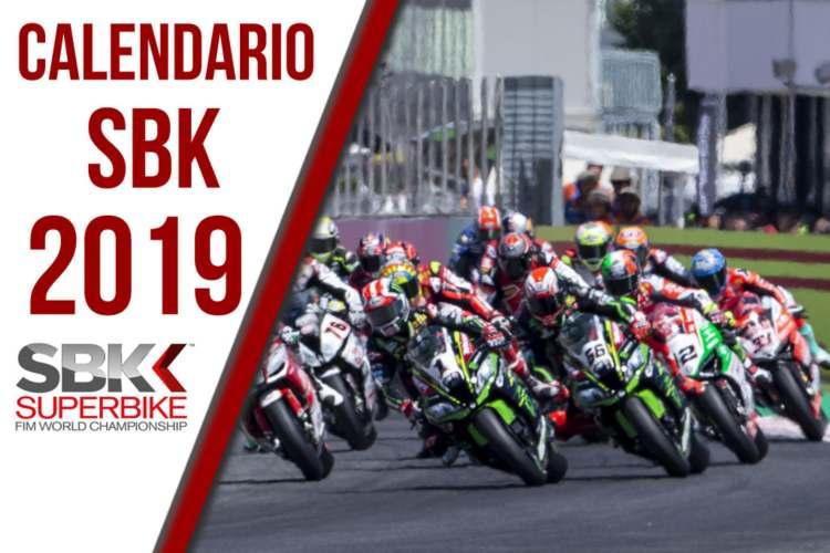 Calendario SBK 2019