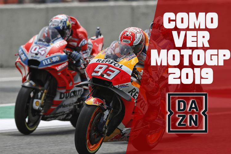 Como ver MotoGP 2019 DAZN