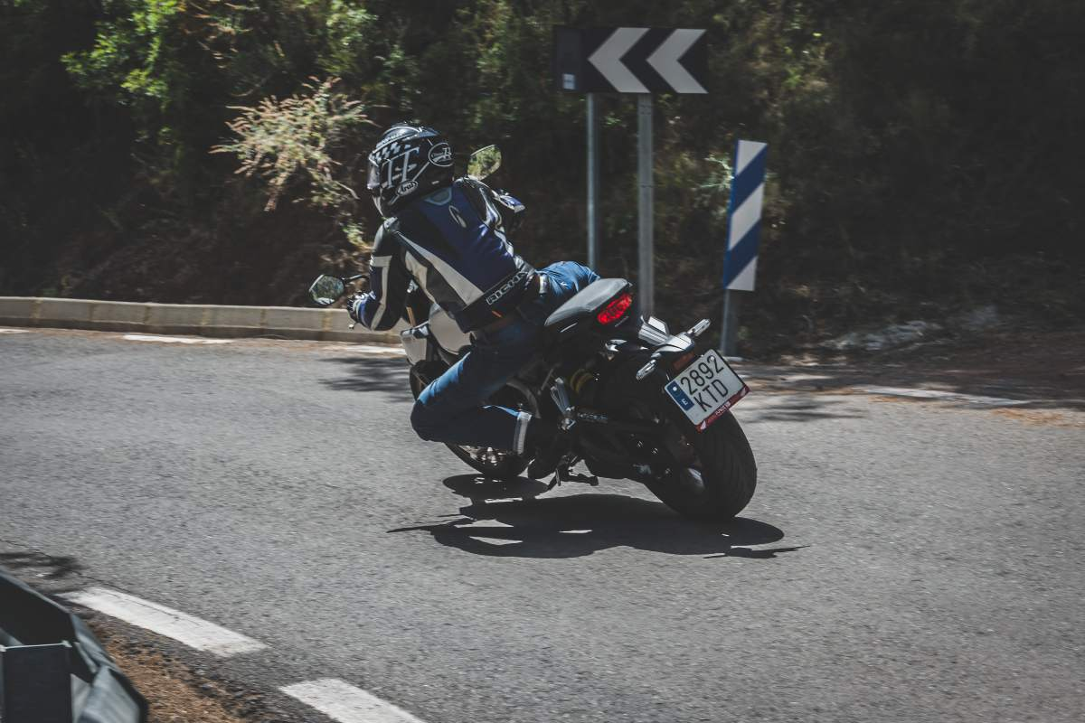 Prueba Honda CB650R