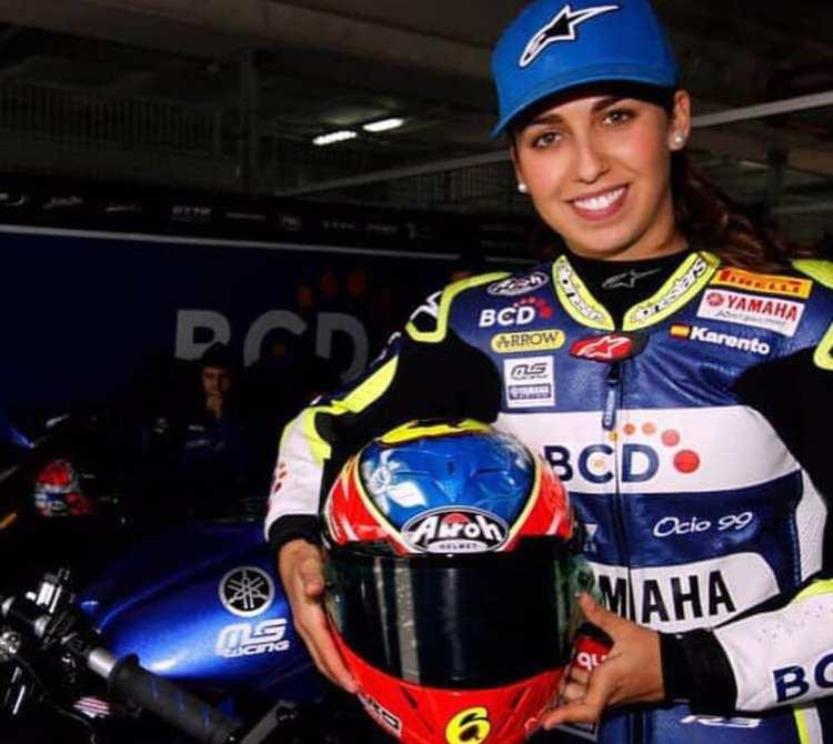 Maria Herrera, primera mujer en el Mundial de Supersport 600