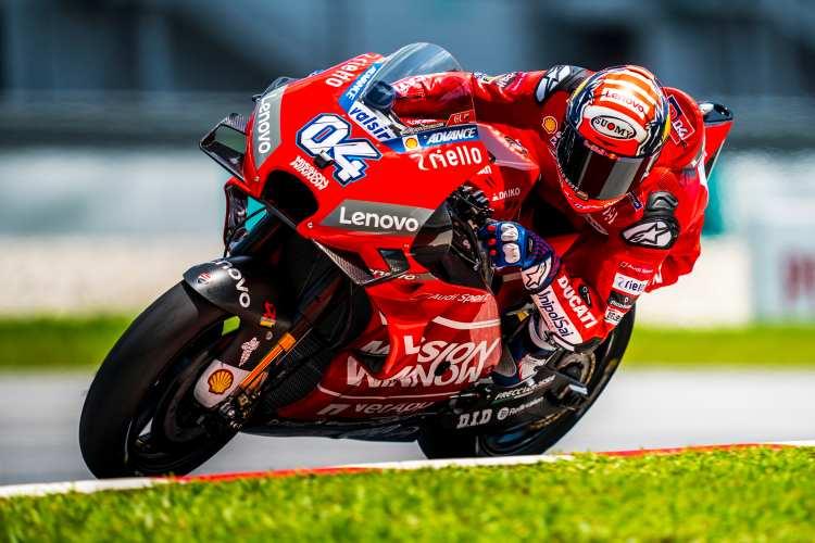 Andrea Dovizioso - Test MotoGP Sepang 2019
