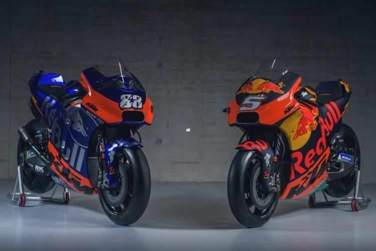 Presentado el equipo KTM MotoGP 2019 de Espargaro y Zarco